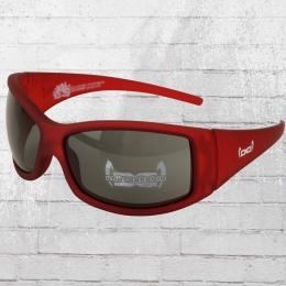 Gloryfy Sonnenbrille G2 Pure Red Unbreakable matt rot transparent