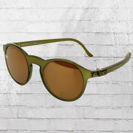 Gloryfy Sonnenbrille Unbreakable Gi8 Panto oliv transparent
