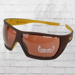 Gloryfy Unbreakable Sonnenbrille G12 Sandstorm Air braun gelb