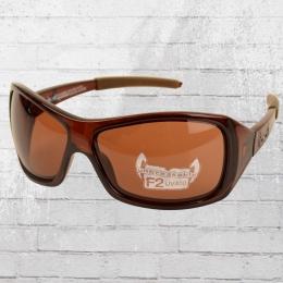 Gloryfy Unbreakable Sonnenbrille G 10 braun transparent
