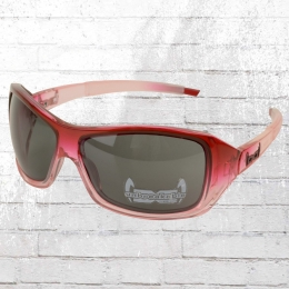 Gloryfy Unbreakable Sonnenbrille G10 Lily rot transparent