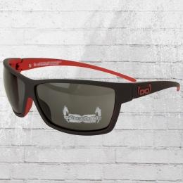 Gloryfy Unbreakable Sonnenbrille G13 matt schwarz rot