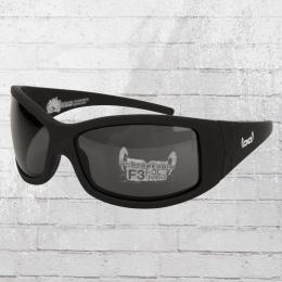 Gloryfy Unbreakable Sonnenbrille G2 Pure Black Polarisiert schwarz