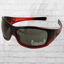 Gloryfy Unbreakable Sonnenbrille G3 rot schwarz transparent