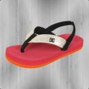 DC Shoes Kinder Zehentrenner Sandale Grommet black pink