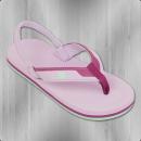 DC Shoes Kinder Sandalen Zehentrenner Grommet flieder