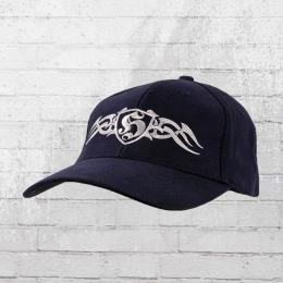 Hooligan Streetwear Mütze Tribal De Luxe Cap navy blau