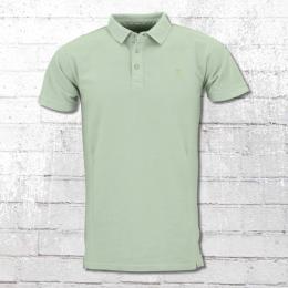 Indicode Herren Polo Shirt Abbortsford mint grün