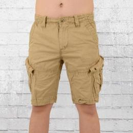 Jet Lag Herren Cargo Shorts sand