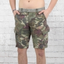 Jetlag Herren Cargo Army Shorts SO16-18 floral camouflage