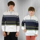Billabong Kinder Longsleeve T-Shirt mit Kapuze Spinner navy