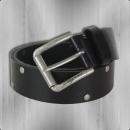 Viazoni Leder Gürtel L 110 black