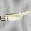 Billabong Leder Gürtel Press Belt Leather white