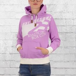 Label 23 Damen Kapuzenpullover Last Resort Hoody lila