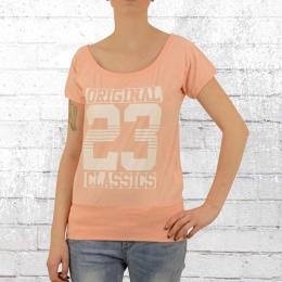 Label 23 Damen T-Shirt Original Classic orange melange