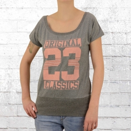 Label 23 Frauen T-Shirt Original Classic grau melange