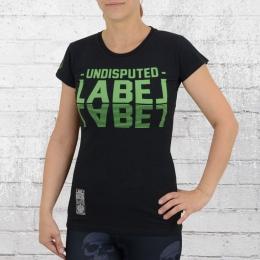 Label 23 Frauen T-Shirt Undisputed schwarz