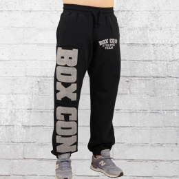 Label 23 Männer Jogginghose Box Con schwarz