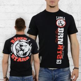Label 23 Männer T-Shirt Bärenstark schwarz