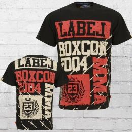 Label 23 Männer T-Shirt MMA schwarz