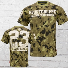 Label 23 T-Shirt Sportgruppe camouflage