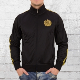 Label 23 Trainingsjacke Casual BXCO schwarz
