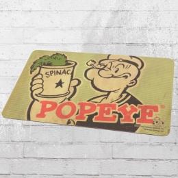 Logoshirt 4er Set Frühstücksbretter Popeye der Seemann Spinach grün