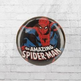 Logoshirt Button Anstecker Amazing Spiderman Comic