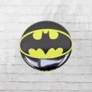 Logoshirt Comic Anstecker Button DC Batman Logo schwarz gelb