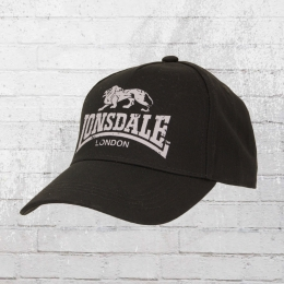 Lonsdale London Cap Leiston A schwarz