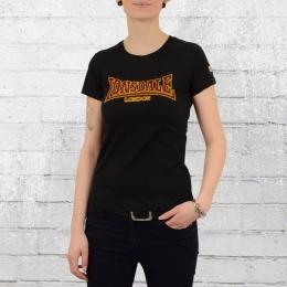 Lonsdale London Frauen T-Shirt Helmsley schwarz