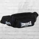 Lonsdale London Gürteltasche Bumbag Hip Bag schwarz grau