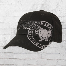 Lonsdale London Leiston B Cap schwarz