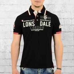 Lonsdale London Männer Poloshirt Sellindge schwarz