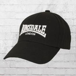 Lonsdale London Mütze Wigston Cap schwarz