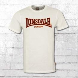 Lonsdale London T-Shirt Classic Herren weiss