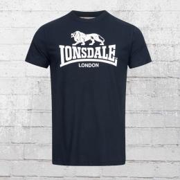 Lonsdale London T-Shirt St. Erney blau