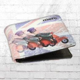 Merc London Geldbörse Topsail Wallet black