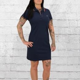 Merc London Tennis Mini Kleid Kara blau