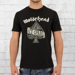 Merchcode Bandshirt Motörhead Ace of Spades schwarz