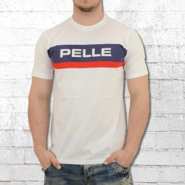 Pelle Pelle Herren T-Shirt All The Way Up weiss
