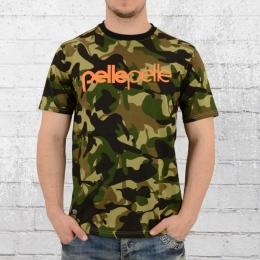 Pelle Pelle Herren T-Shirt Back 2 The Basics camouflage