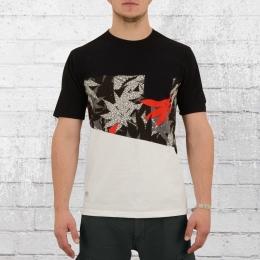 Pelle Pelle Herren T-Shirt Off Balance schwarz weiss