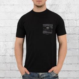 Pelle Pelle Jungle Pocket T-Shirt Herren schwarz