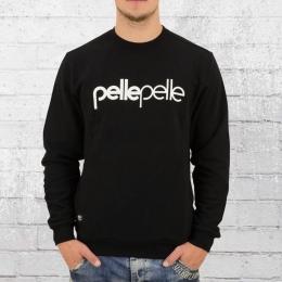 Pelle Pelle Männer Sweater Back To Basics schwarz