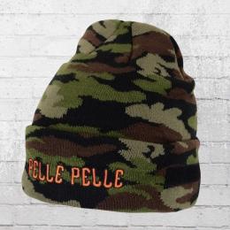 Pelle Pelle Strick-Mütze Guerilla Beanie camouflage