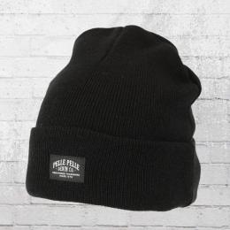 Pelle Pelle Winter Mütze Core Beanie schwarz