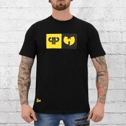 Pelle Pelle Wu Tang T-Shirt Herren Best Of Both Worlds schwarz