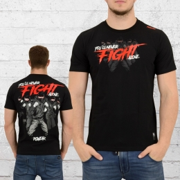 PG Wear Herren T-Shirt Fight schwarz