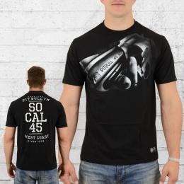 Pit Bull West Coast Herren T-Shirt SO CAL 45 schwarz